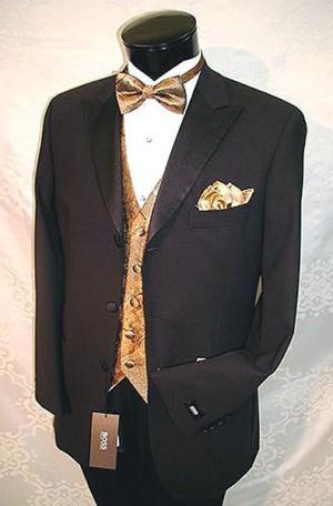 Hugo Boss Black 3-Button Tuxedo #07140