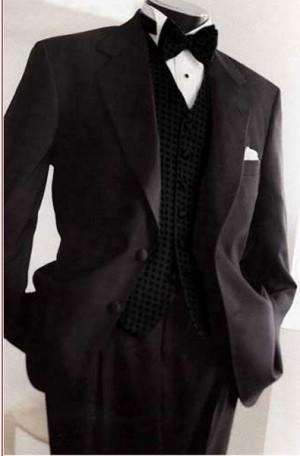 Haspel Black Classic Tuxedo #1375F