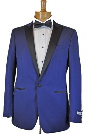 Calvin Klein Blue Tuxedo #15X9993