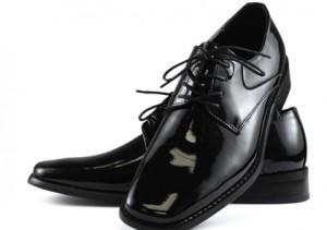 Giorgio Brutini Leather Lace-Up Tuxedo Shoe #175881A