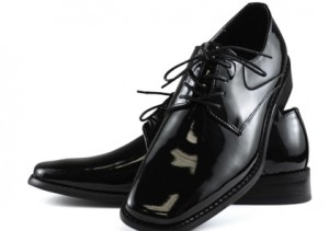 Giorgio Brutini Leather Lace-Up Tuxedo Shoe #175881A