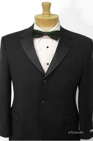 Kenneth Cole Black Slim Fit Tuxedo #20-703531-005