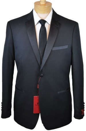 Black Slim Fit Tuxedo #201-1SL