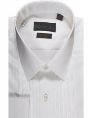 Tglio Pleated Front Formal Shirt