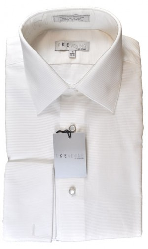 Ike Behar Textured Formal Shirt #5972