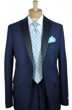 """Calvin Klein Navy """"Extreme Slim"""" Fit Tuxedo #5FWX0003"""