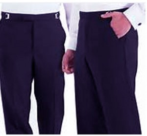 Ike Behar Navy Formal Pant #8320P-37