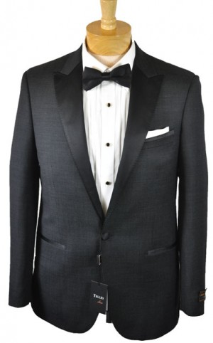 Tiglio Charcoal Tailored Fit Tuxedo 868180-1