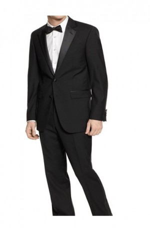 Zanieri Black Tuxedo with Pleated Slacks #89101-2B