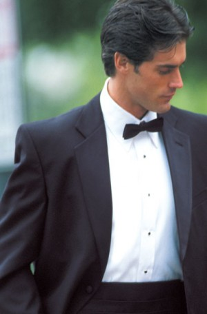 Zanieri 1-Button Tuxedo with Pleated Slacks #89101