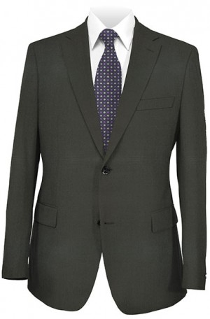 Betenly Wedding Suit Collection - Solid Black Tailored Fit #8T0001