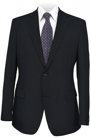 Betenly Wedding Suit Collection - Navy Tailored Fit Suit #8T0002