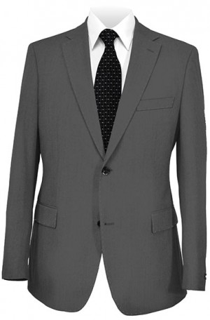 Betenly Wedding Suit Collection - Dark Gray Tailored Fit #8T0004
