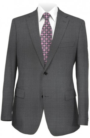 Betenly Wedding Suit Collection - Dark Gray Tailored Fit #8T0003