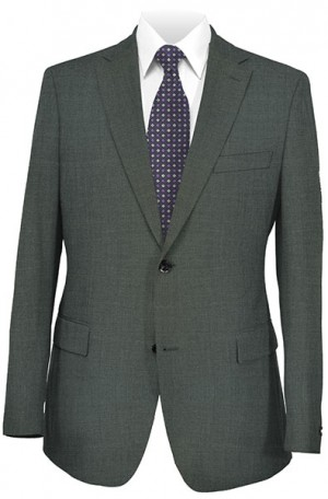 Betenly Wedding Suit Collection - Medium Gray Tailored Fit #8T0004