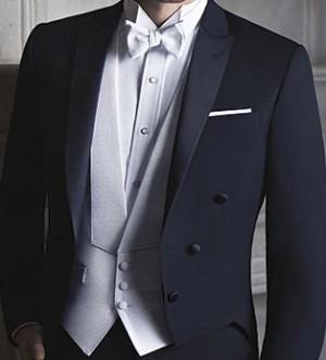 Pique Formal Vest and Bow Tie #9002V