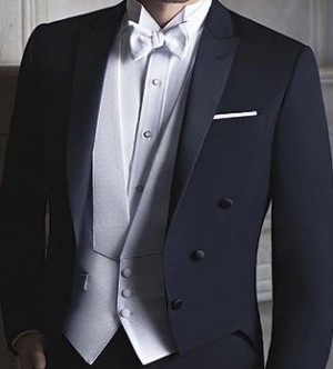 Pique Formal Vest and Bow Tie #9002V