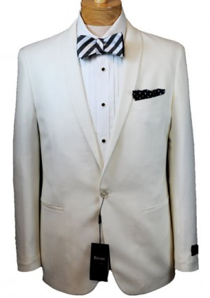 Tiglio White Dinner Jacket #BECKHAM