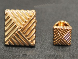 Bronze Cuff Link and Stud Set #FS500134