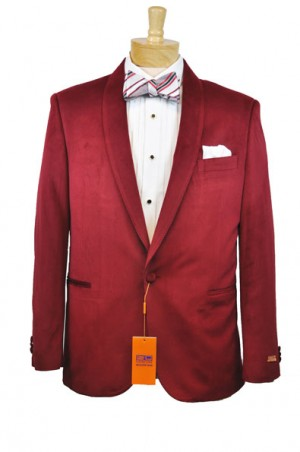 Steven Land Red Velvet Dinner Jacket #SL77-330