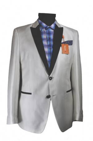 Tallia White Dinner Jacket Slim Fit #TVV0109