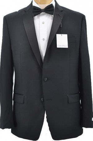 Calvin Klein 2 Button Notch Lapel Tuxedo Separates