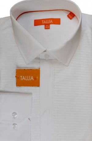Tallia White  Tailored Fit Formal Shirt #T7517D