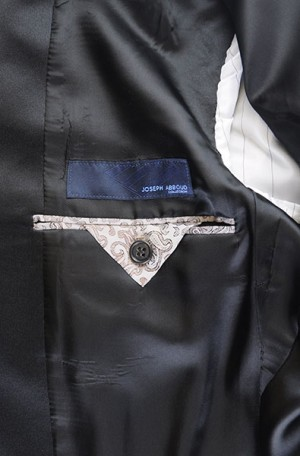 Joseph Abboud Black Classic Fit Tuxedo #991801