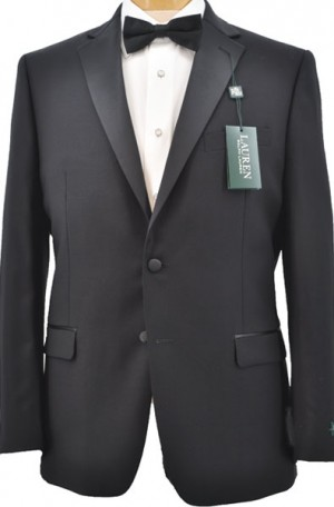 Ralph Lauren 2 Button Notch Lapel Tuxedo