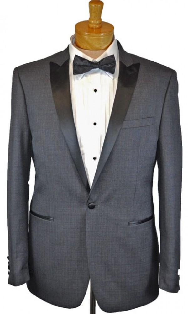 2cbb5dbcfa Calvin Klein Gray Slim Fit Tuxedo #16X9991