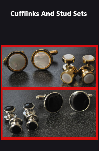 Cufflink and Stud Sets